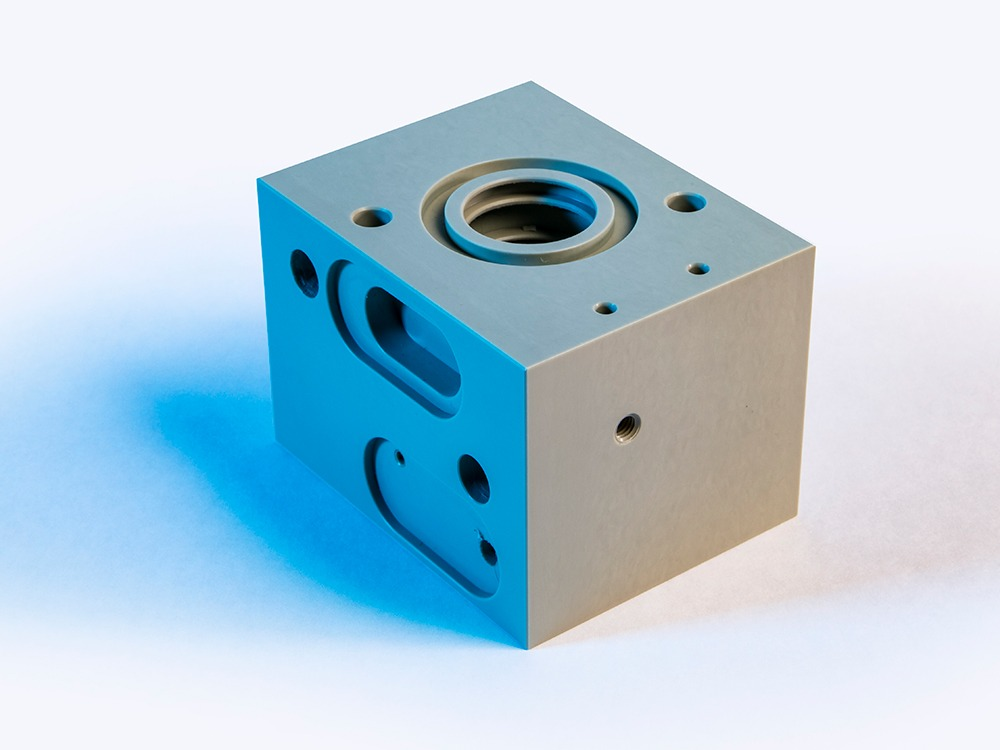 CNC Milled part - Techno Group